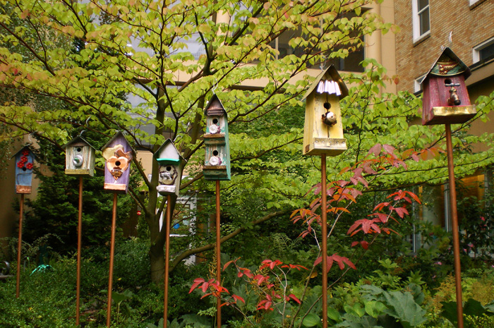 Children's Garden Birdhouses